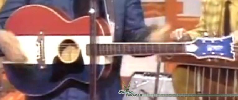 Silvertone World Acoustic Guitars 1970s Model 1219 Buck
