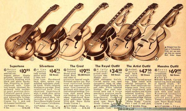 The Unique Guitar Blog: Harmony Guitars