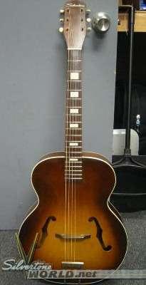 silvertone archtop guitar