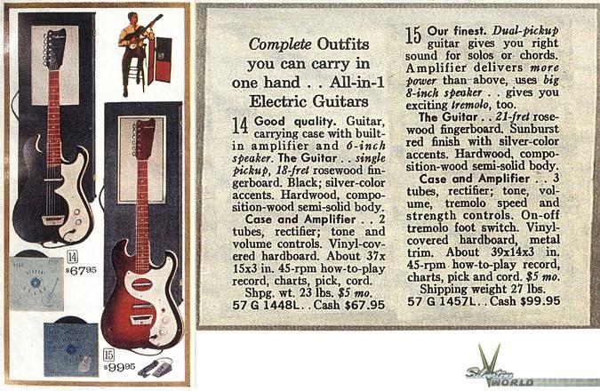 silvertone world electric guitars 1960s model 1448 rh silvertoneworld net