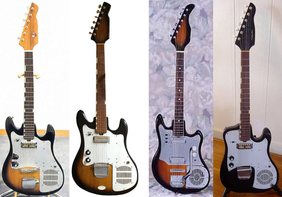 silvertone electric guitar wiring diagram silvertone silvertone world electric guitars 1960s model 1445 schematic on silvertone electric guitar wiring diagram