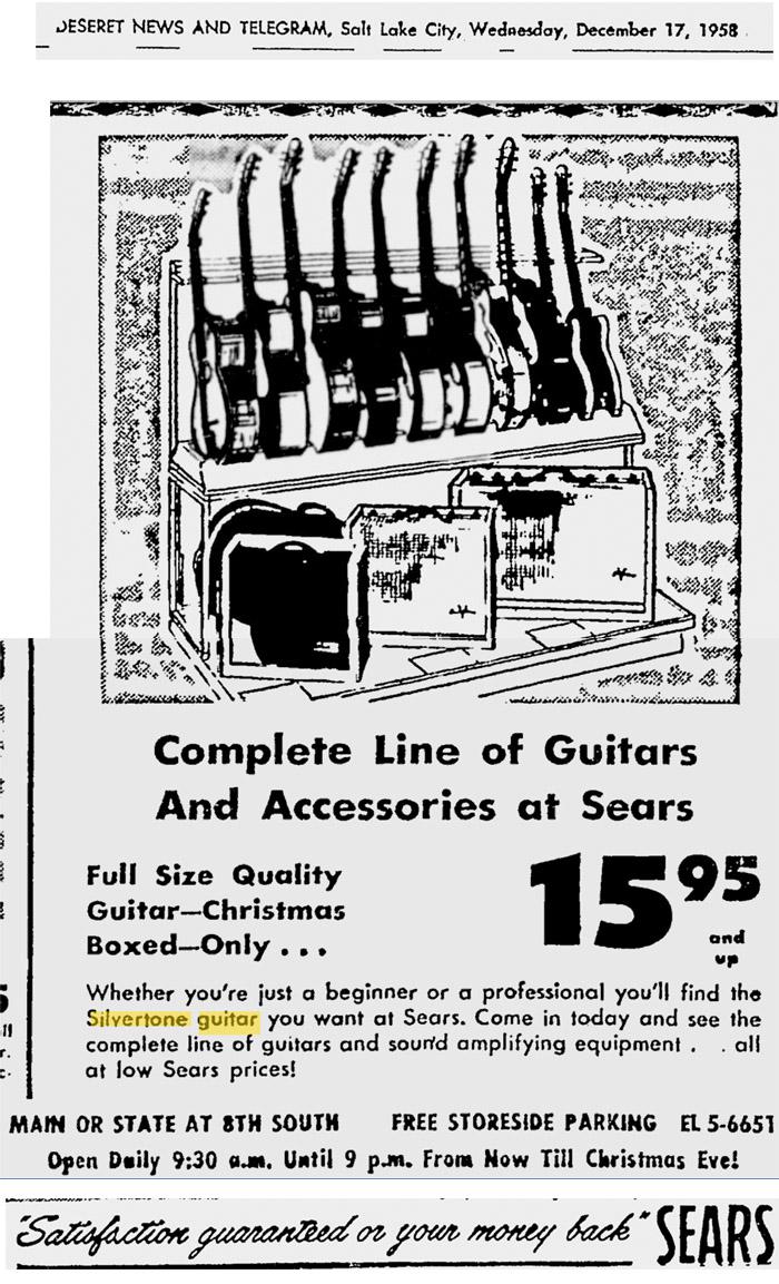 Silvertone World - Vintage Christmas Ads Mid-1960s