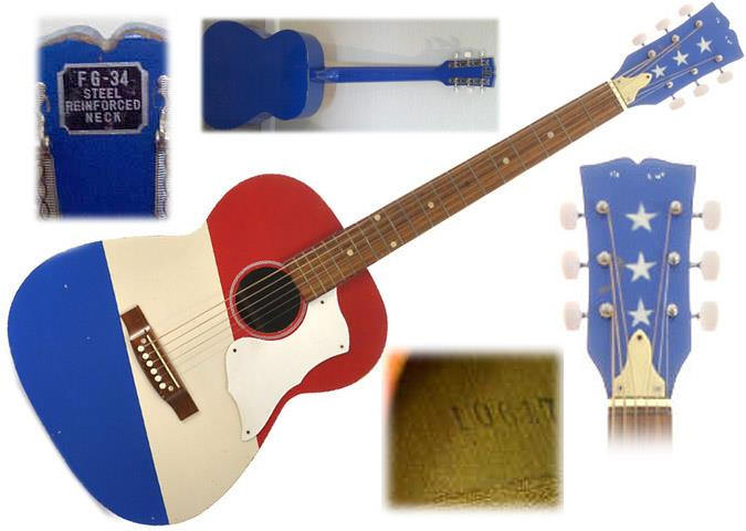 The Unique Guitar Blog The Fourth Of July Buck Owens Red White