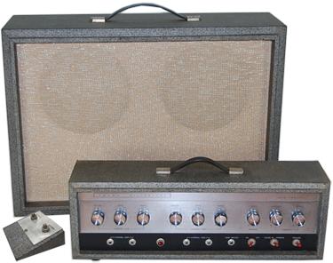 Silvertone World Amplifiers 1960s Model 1484