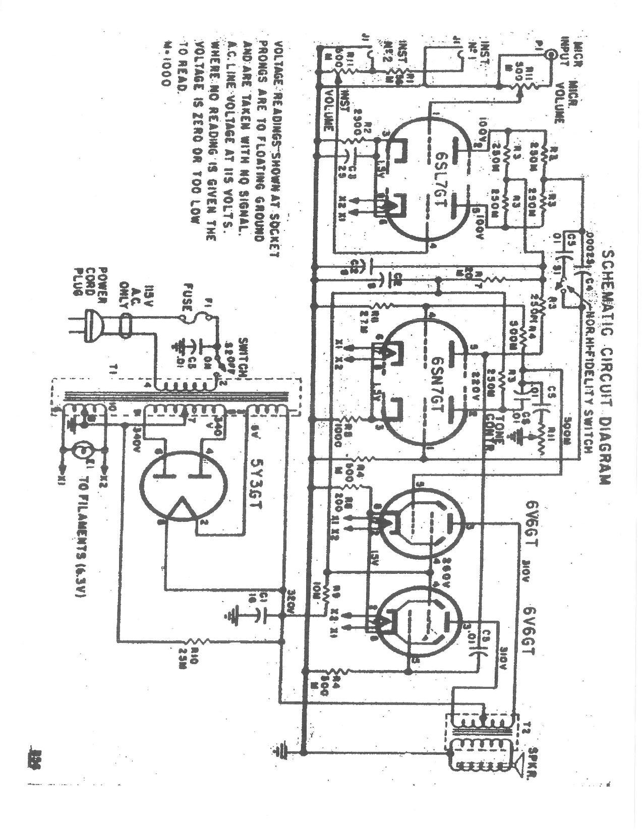silvertone world - amplifiers - 1940s